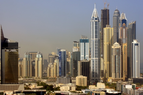 Dubai internet city hotel view